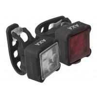 Foto van AXA Verlichtingsset Niteline 44 LED batterij zwart