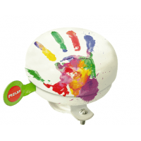 Foto van Bel Melon Handprint 60mm wit
