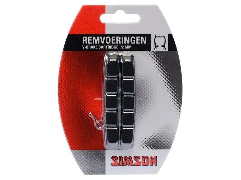 Simson Remvoeringen voor V-brake Cartridge 020201