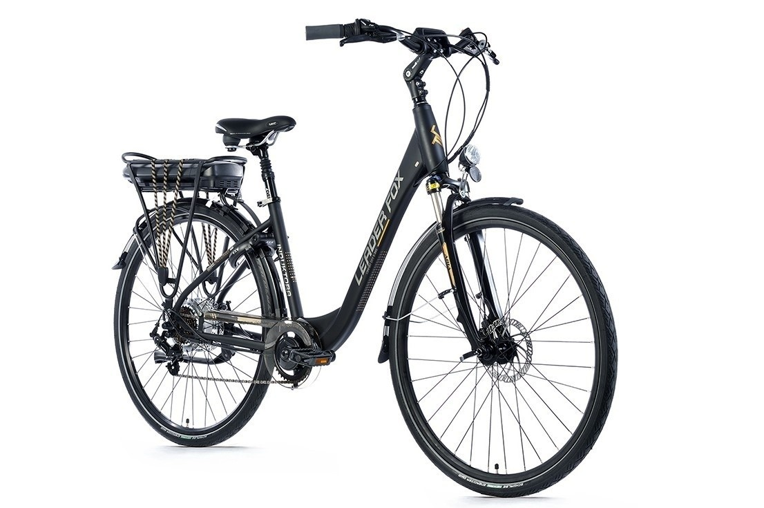Leader Fox E-Bike Induktora 7V model 2019 met achterwielmotor