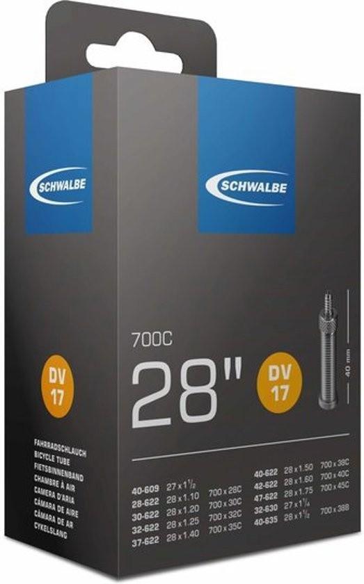 Schwalbe binnenband DV17 28 inch HV 28-47 / 622 32-40 / 635