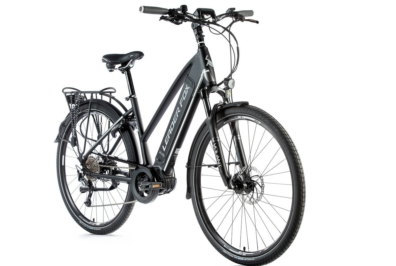 Leader Fox E-Bike Lucas Dames 9V model 2019 met middenmotor