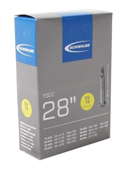 Schwalbe binnenband 27/28 x 0.75/1.10 (18/28-622/630) SV 50 mm