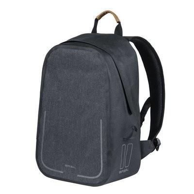 Basil Urban Dry Backpack Fietsrugzak Grijs