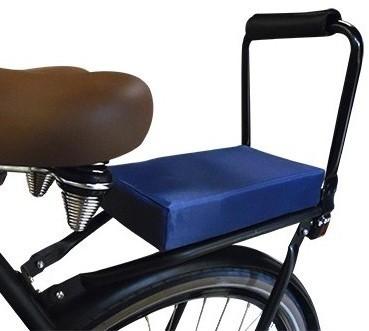 Flo en Zo fietskussen donkerblauw