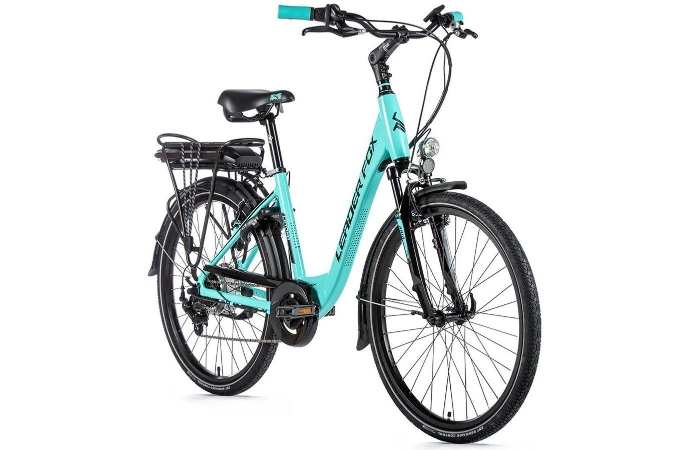 Leader Fox E-Bike Latona 26 inch 7V met achterwielmotor