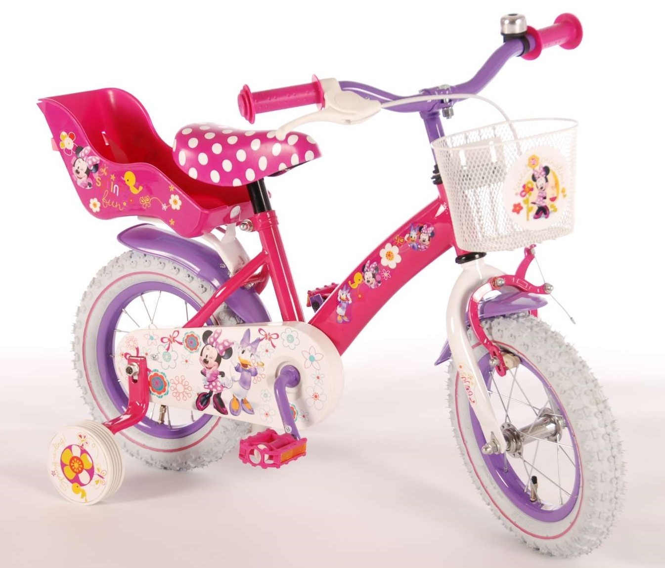 Disney Minnie Bow-Tique 12 inch meisjesfiets 31226