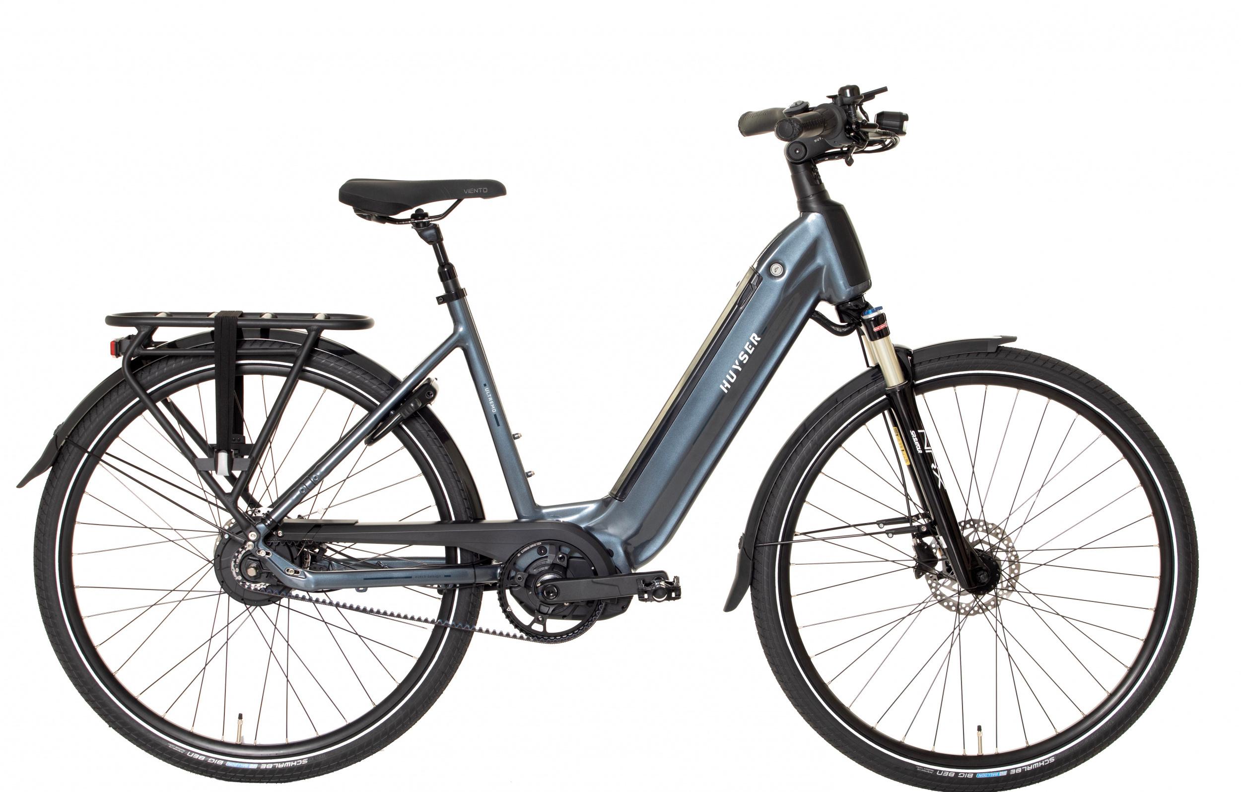 Huyser Ultremo Belt elektrische fiets Enviolo met middenmotor
