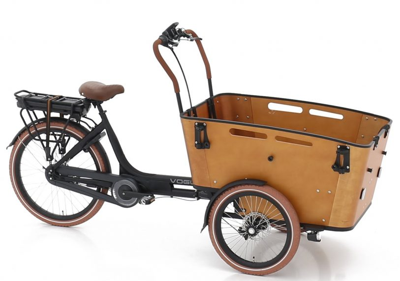 Vogue E-Bike Bakfiets Carry 3 met middenmotor