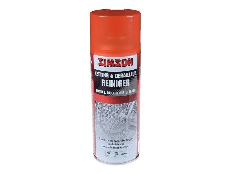 021001 Simson Ketting & Derailleur Reiniger Spray400ml