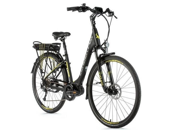 Leader Fox E-Bike Saga City 8V met middenmotor