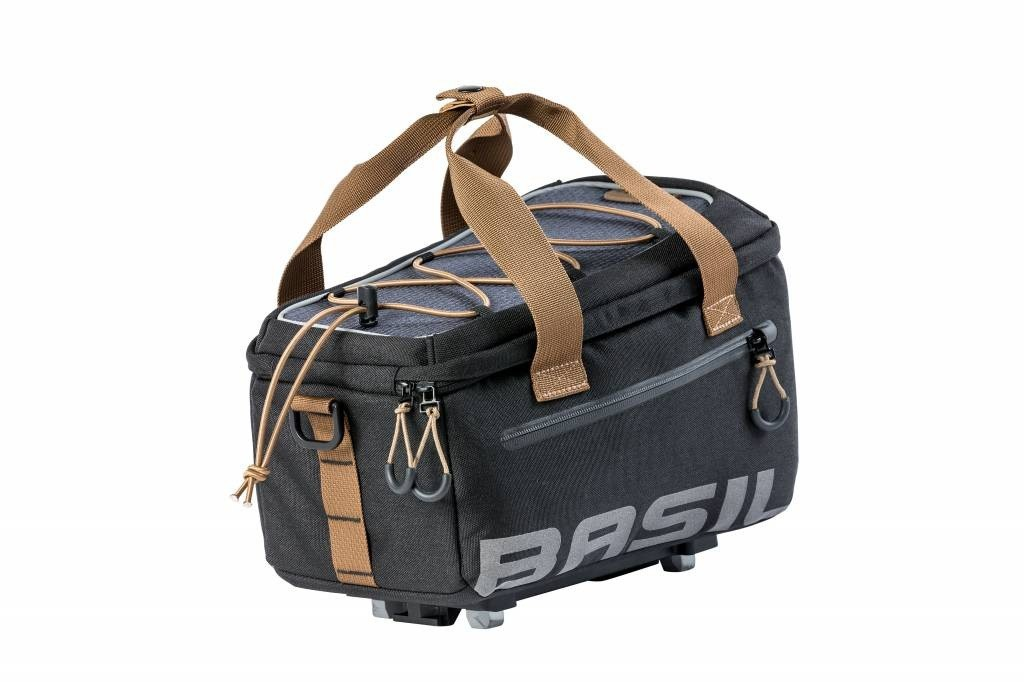 Basil Miles MIK bagagedrager tas 7L black slate