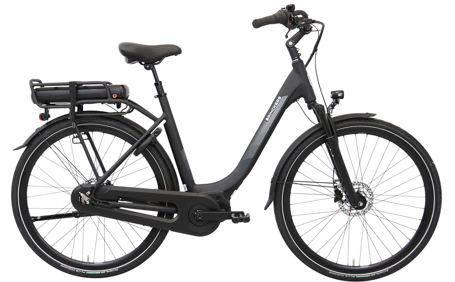Brinckers Brisbane elektrische fiets M310 Enviolo met middenmotor