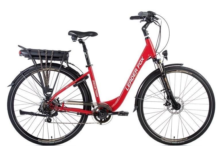Leader Fox E-Bike Induktora 7V met achterwielmotor
