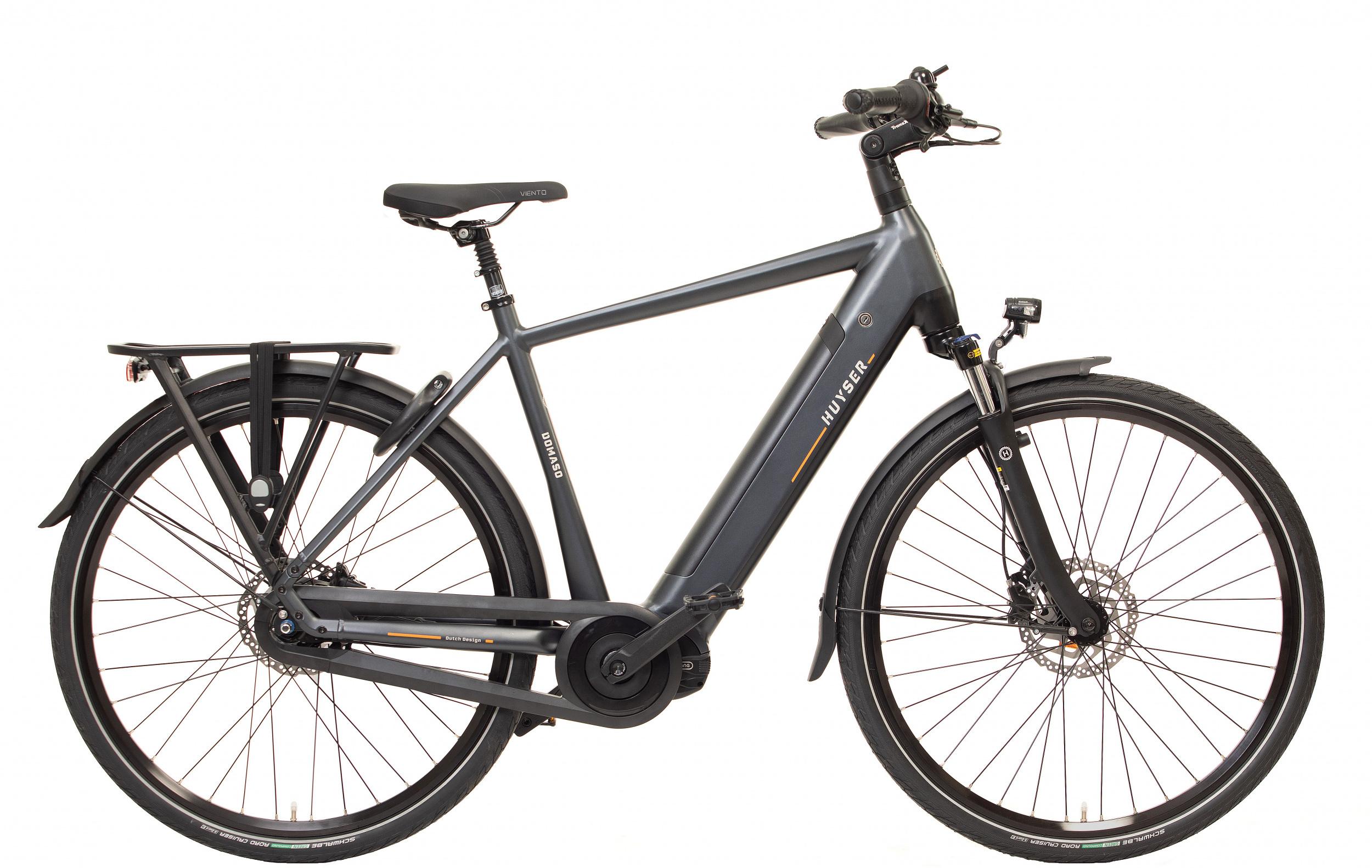 Huyser Domaso Men elektrische fiets 8V met middenmotor