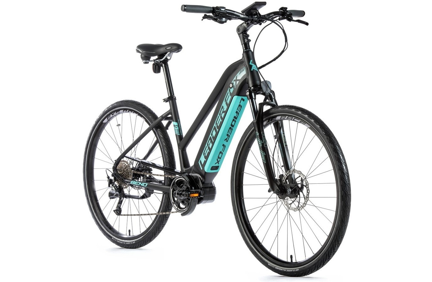 Leader Fox Cross E-Bike Bend lady