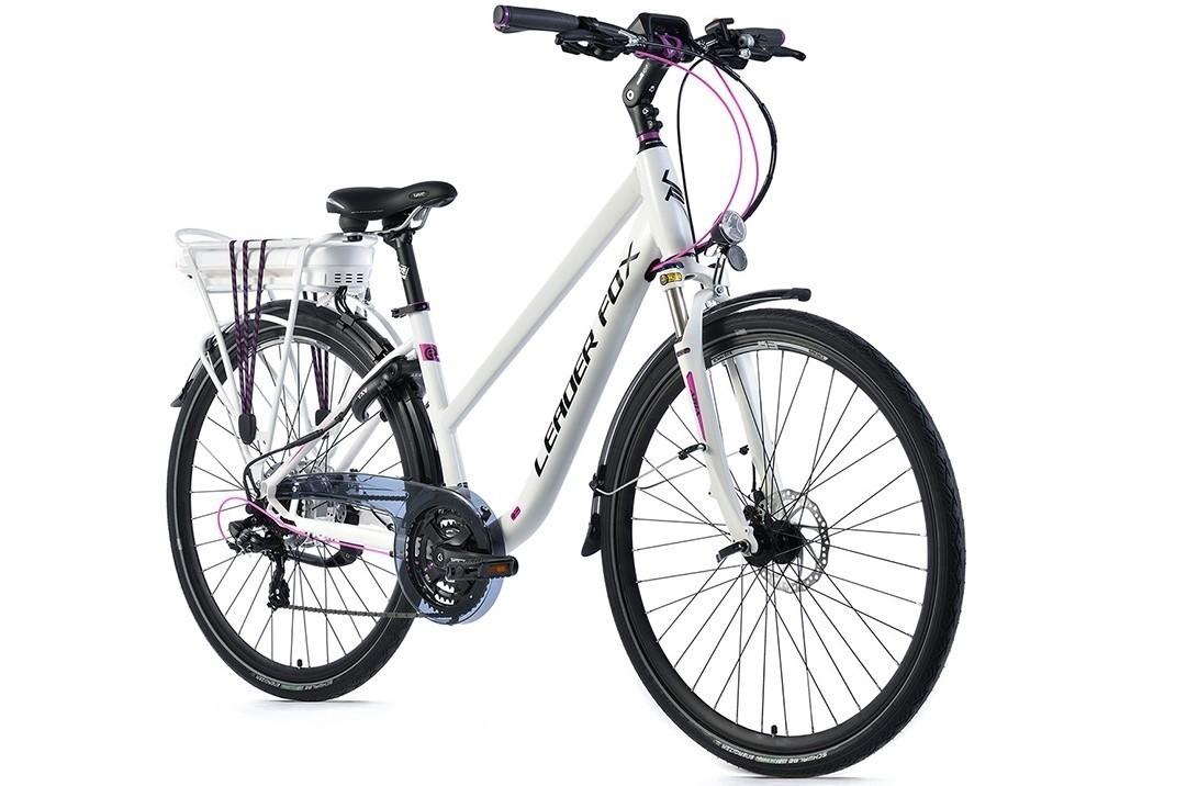Leader Fox E-Bike Forenza dames 21V model 2019 met achterwielmotor