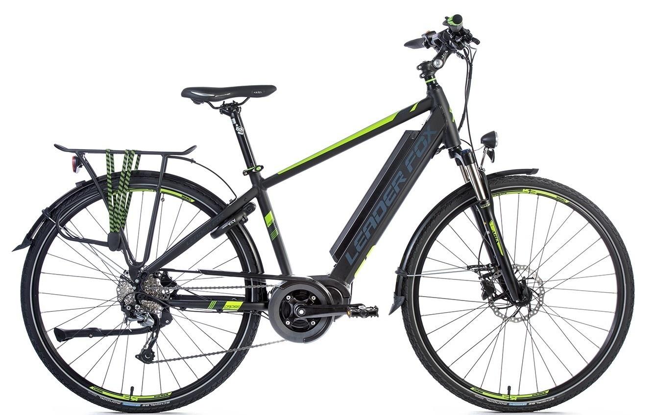 Leader Fox E-Bike Lucas Gent 9V model 2018 met middenmotor