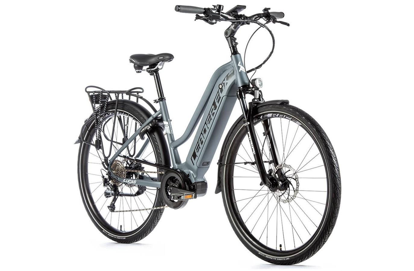 Leader Fox E-Bike Lucas Dames 9V model met middenmotor
