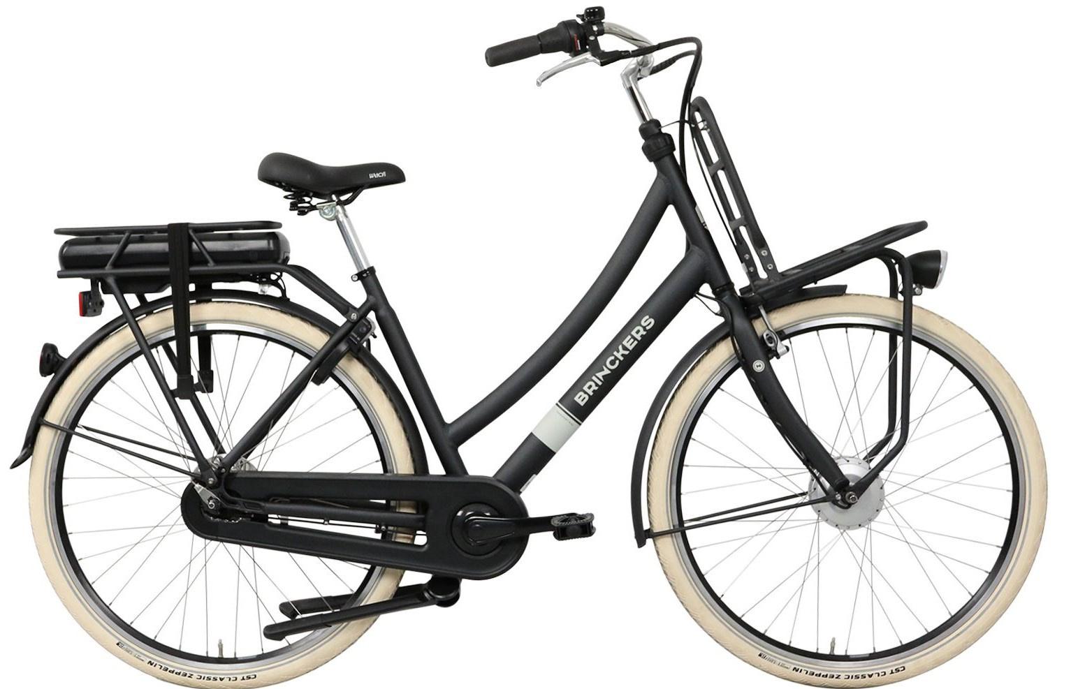 Brinckers Baxter elektrische fiets 7V met voorwielmotor