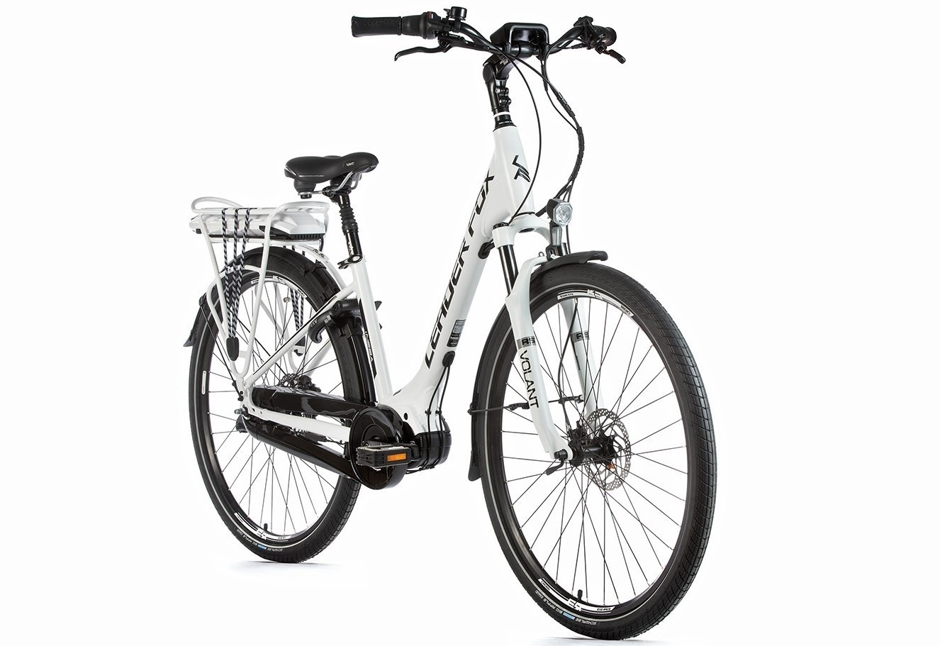 Leader Fox E-Bike Neba City 8V model 2019 met middenmotor