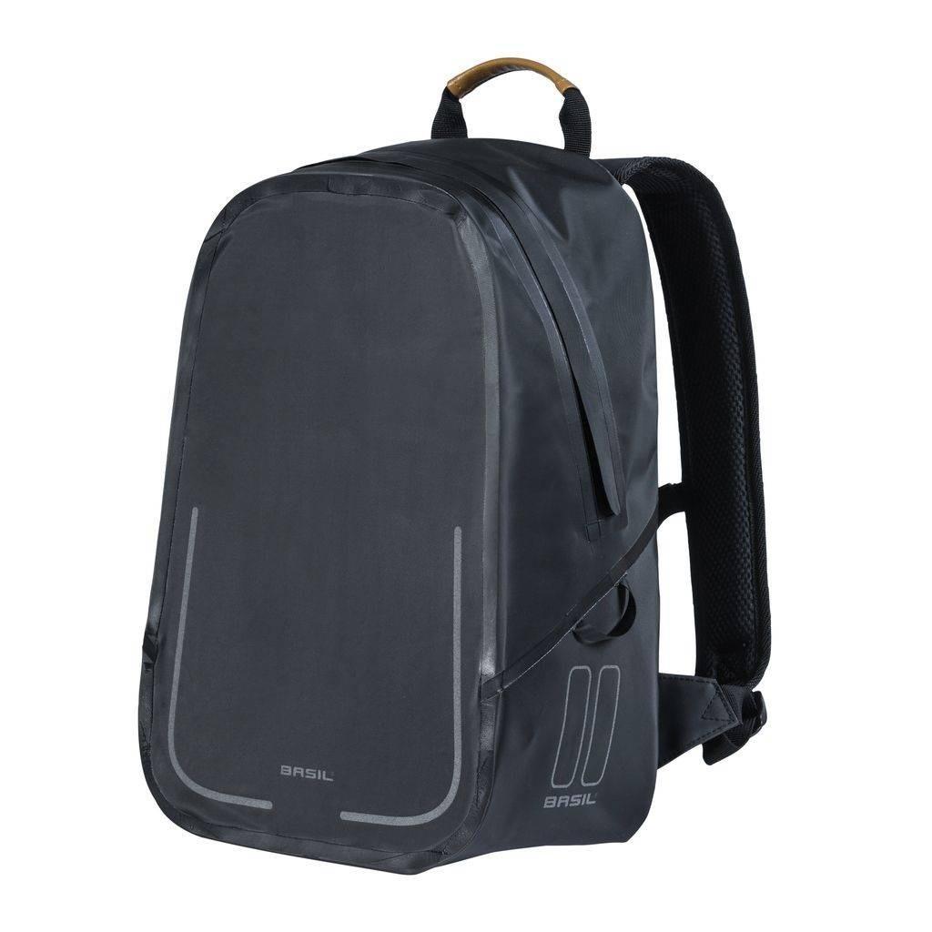 Basil Urban Dry Backpack Fietsrugzak Zwart