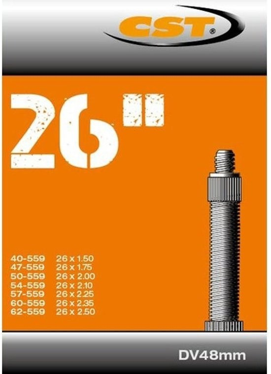 CST Binnenband 26 inch HV 48 mm 40-62 / 559