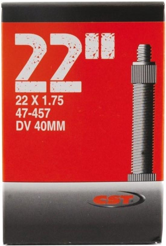 CST - Binnenband Fiets - Hollands Ventiel - 40 mm - 22 x 1.75