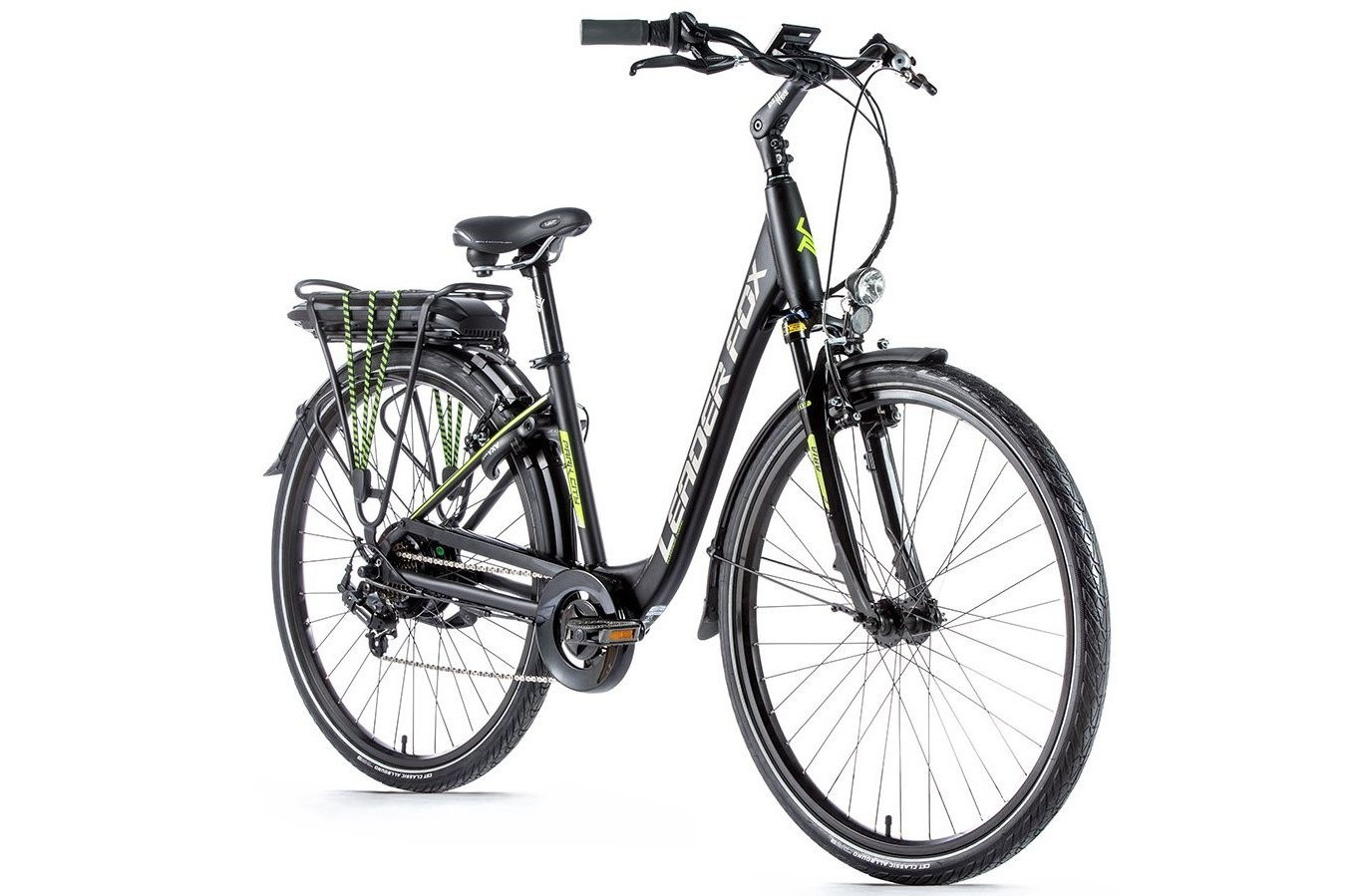 Leader Fox E-Bike Park City 7V met achterwielmotor