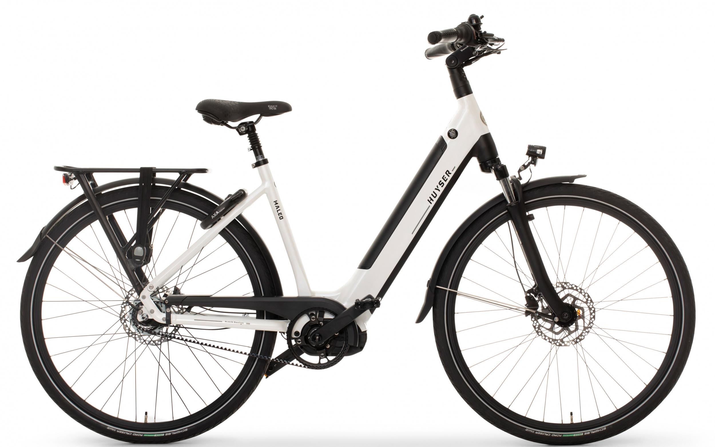 Huyser Maleo Belt elektrische fiets 8V met middenmotor