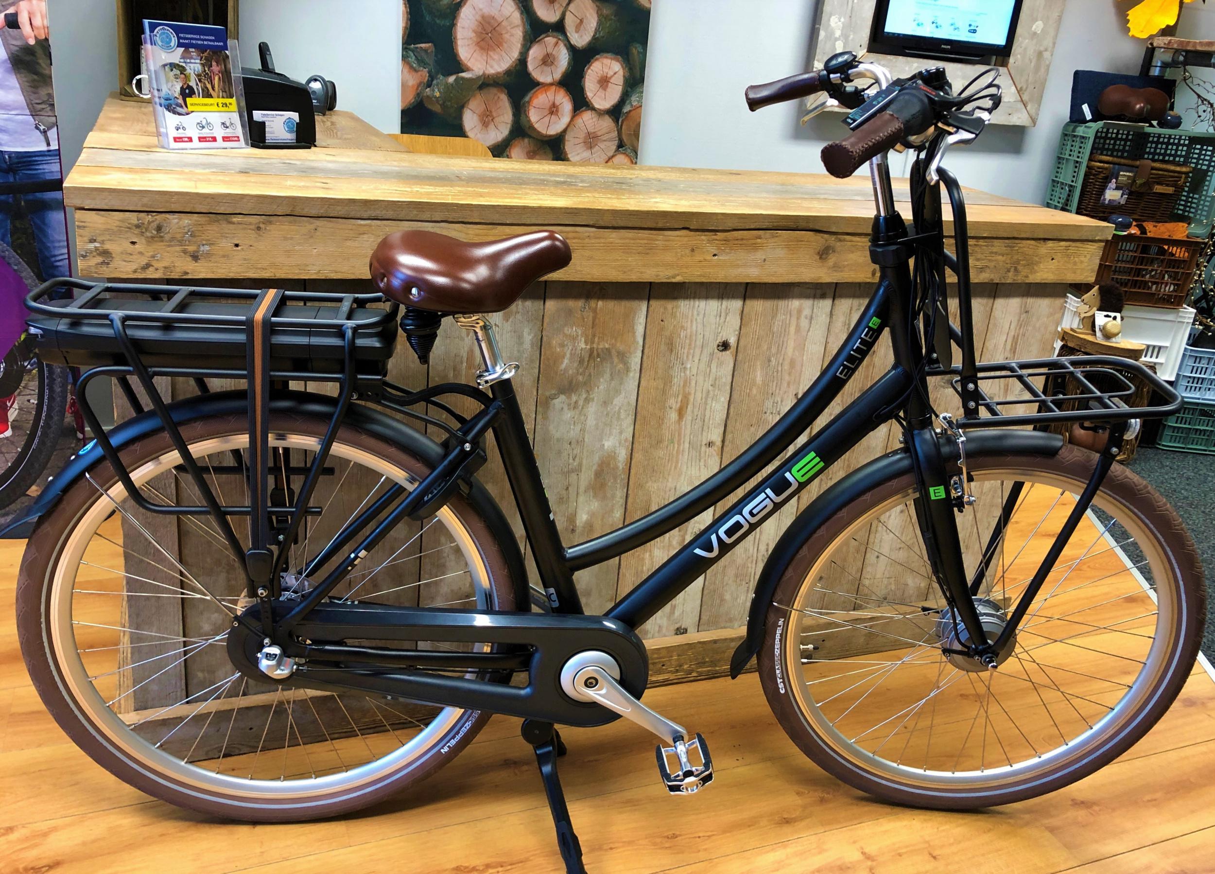 Vogue E-Bike Elite 3 versnellingen met voorwielmotor