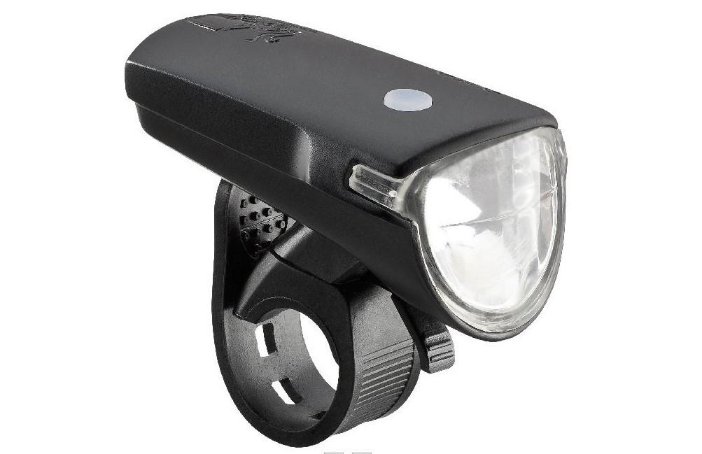 AXA Greenline Koplamp 35 LUX USB-oplaadbaar zwart