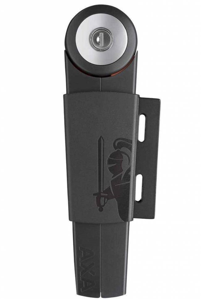 AXA Vouwslot Toucan 120cm 6 schakels donker grijs