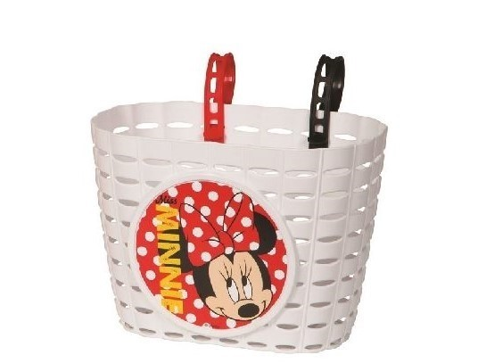 Widek Kindermandje PVC Minnie Mouse wit
