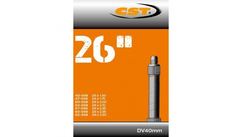 CST - Binnenband Fiets - Hollands Ventiel - 40 mm - 26 x 1.50 - 2.50