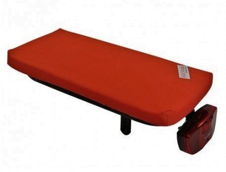 Hooodie Cushie Bright Rood Solid