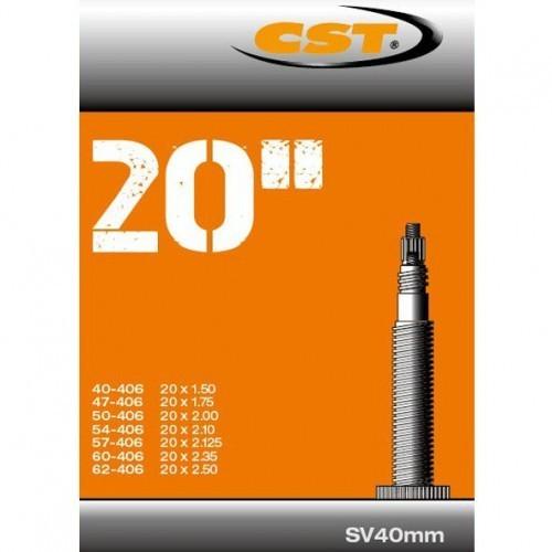 CST - Binnenband Fiets - Frans Ventiel - 40 mm - 20 x 1.50 - 2.50
