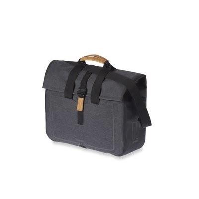 Basil Urban Dry Business bag 20-liter charcoal melee