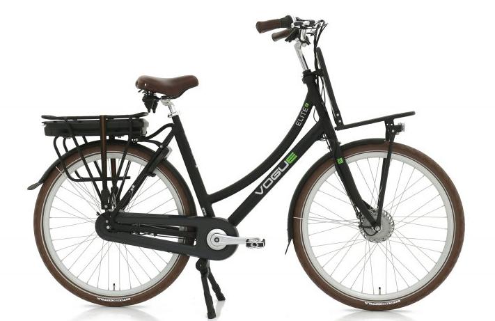 Vogue E-Bike Elite 7 versnellingen met voorwielmotor