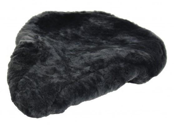 Zadeldek schapenvacht grijs