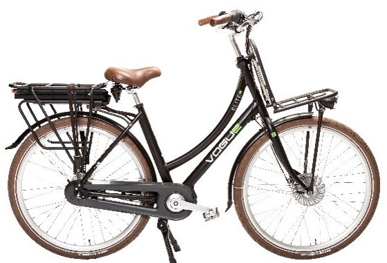 Vogue E-Bike Elite Plus 7 versnellingen met middenmotor