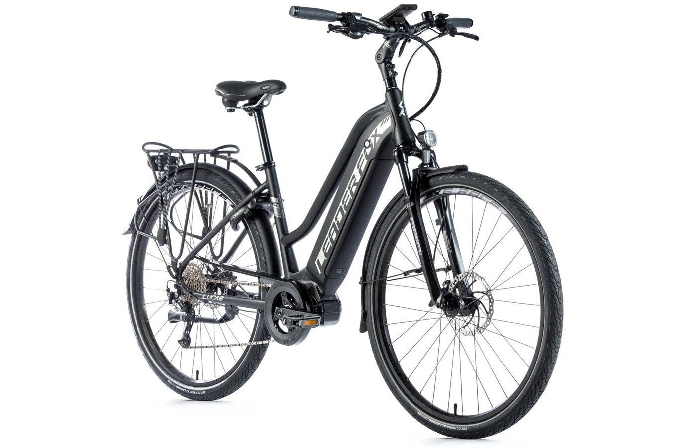Leader Fox E-Bike Lucas Dames 9V met middenmotor