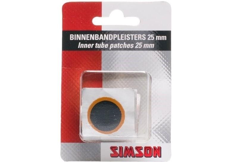 Simson Binnenbandplakkers 25mm 020521
