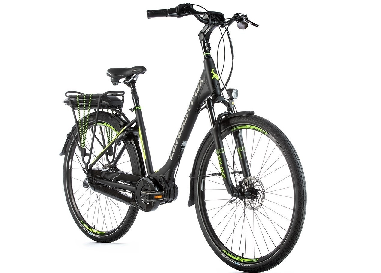 Leader Fox E-Bike Neba City 8V met middenmotor