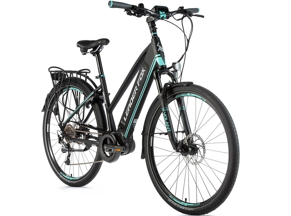 Leader Fox E-Bike Denver dames 8V model 2019 met middenmotor