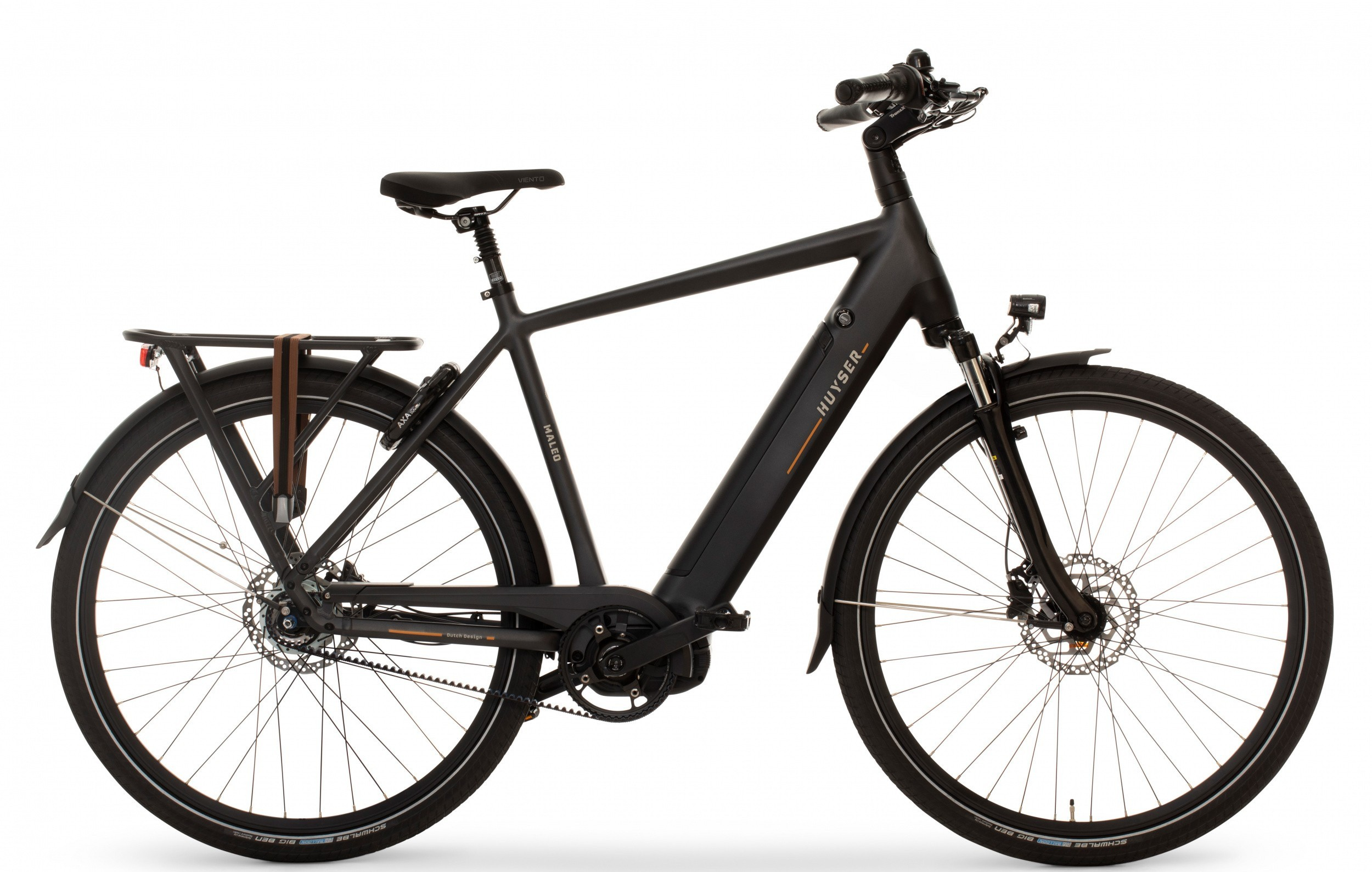 Huyser Maleo Men Belt elektrische fiets 8V met middenmotor