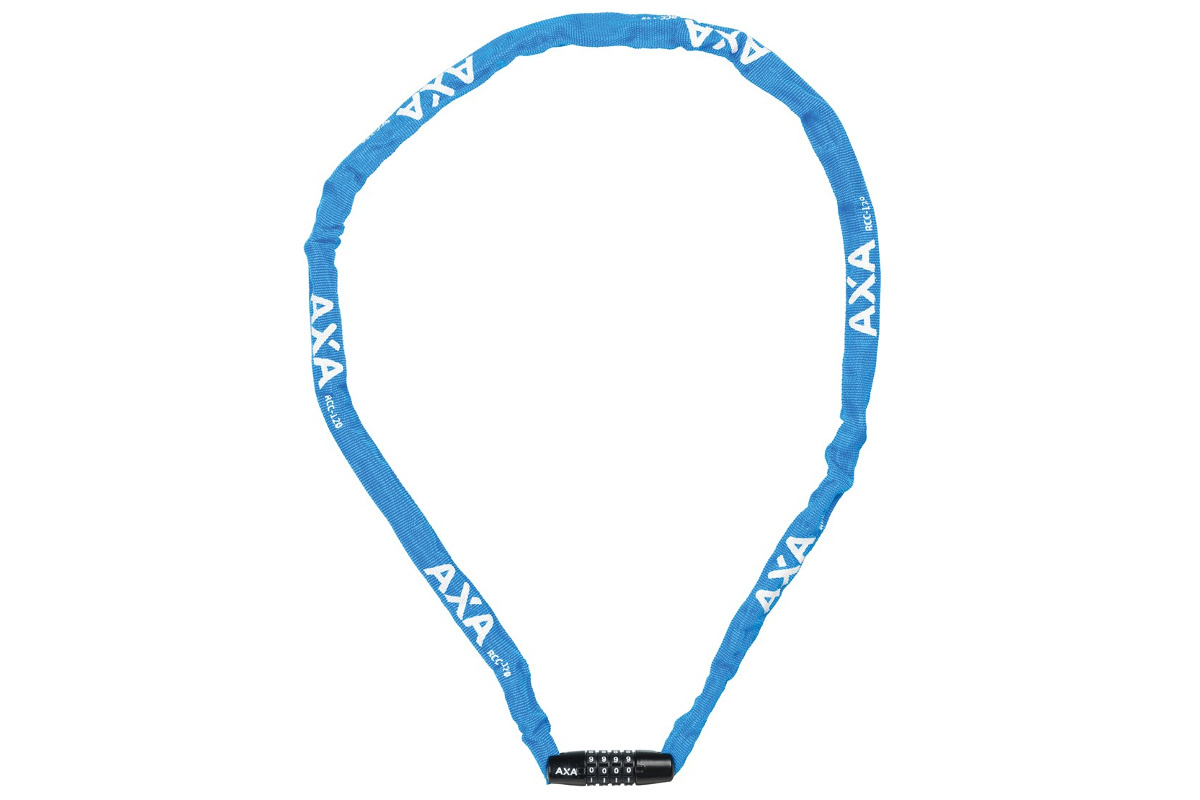 AXA Cijferslot Rigid RCC blauw 120cm/3.5mm