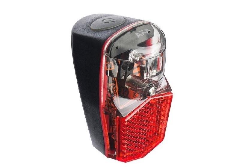 AXA Achterlicht Run compact batterij aan/uit