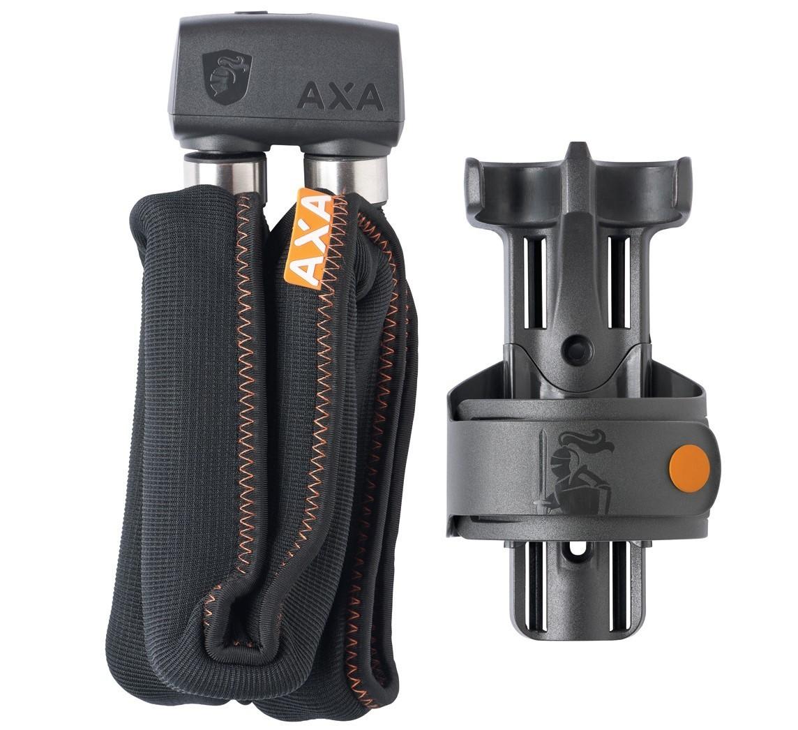 AXA Foldable Vouwslot 800 100cm/8mm donker grijs