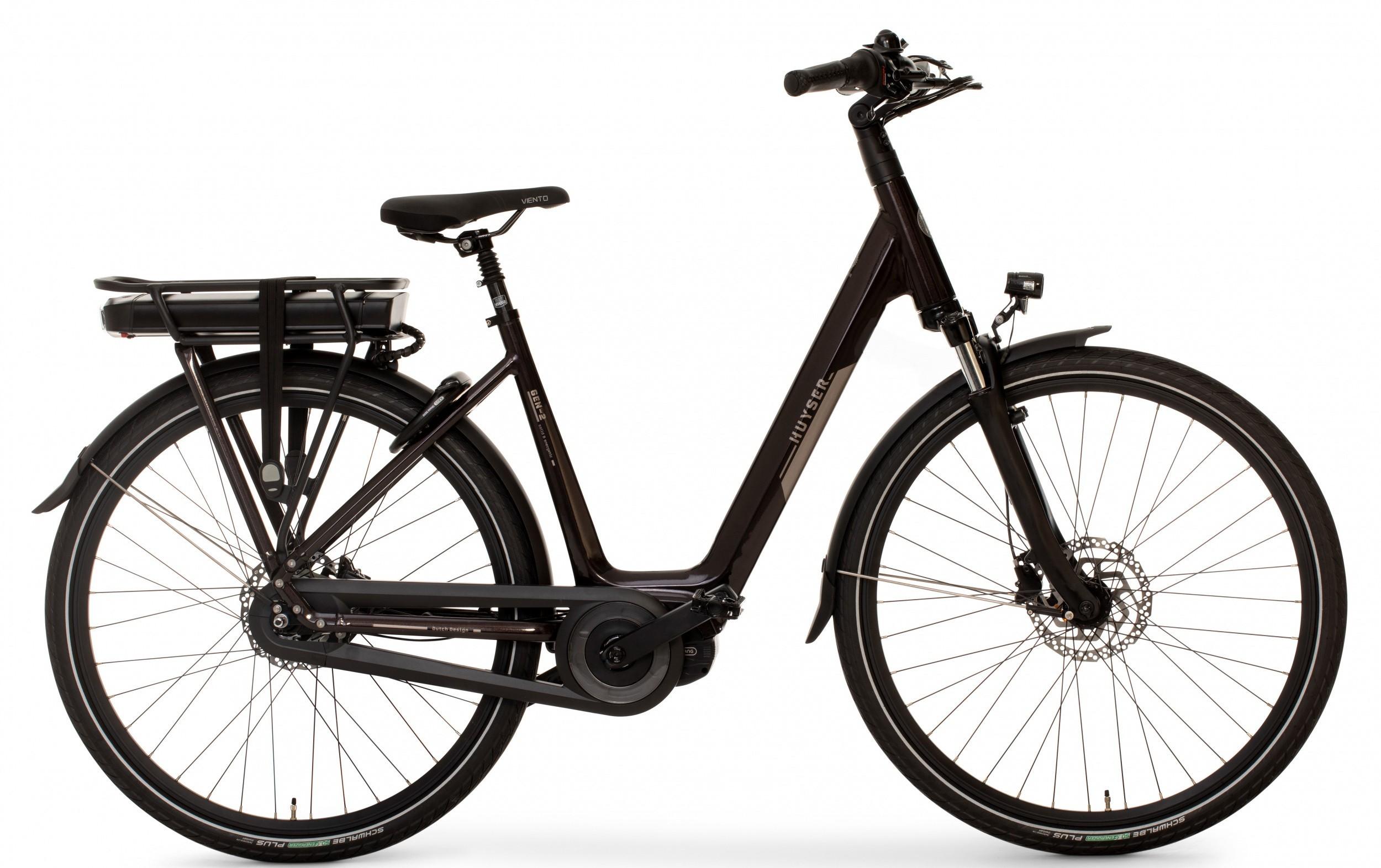 Huyser Gen 2 elektrische fiets 8V met middenmotor